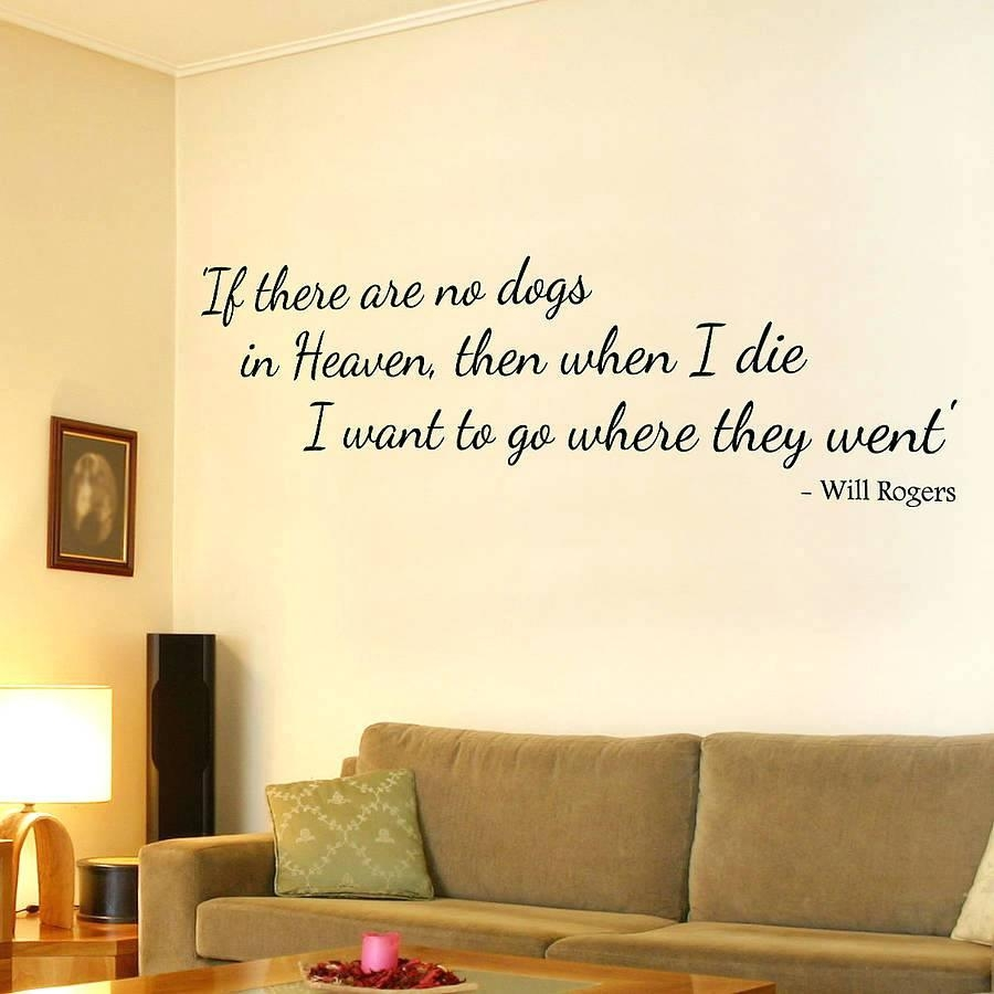 20 Best Collection of Dog Sayings Wall Art | Wall Art Ideas