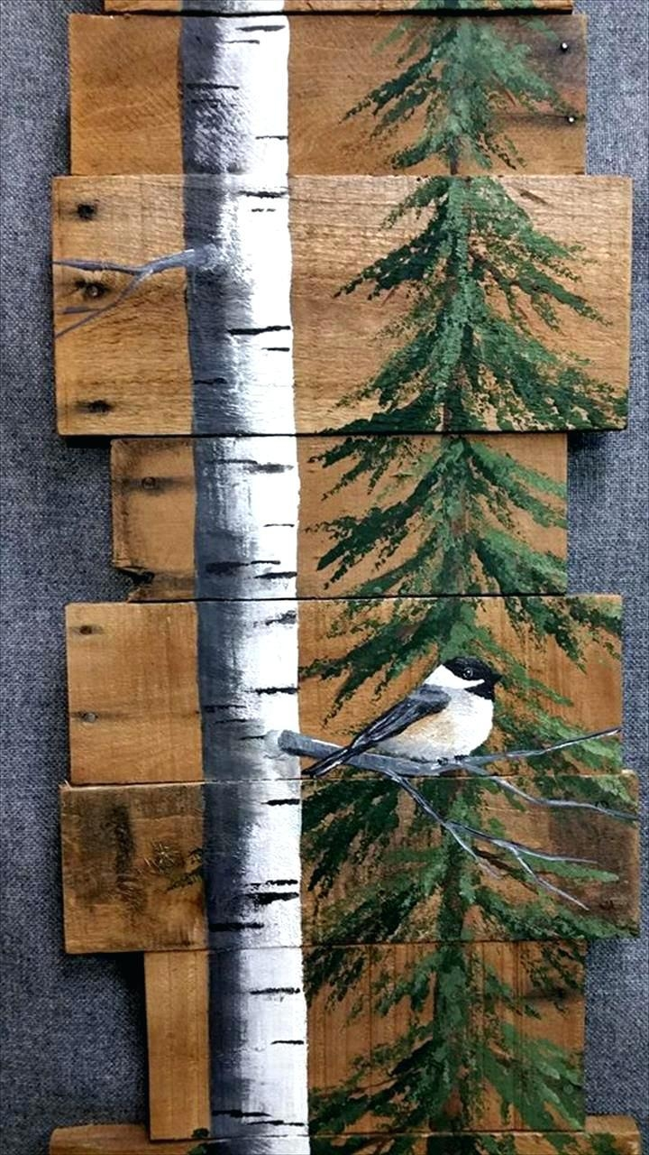 Wall Ideas : How To Make Wood Pallet Wall Art How To Make Stained With Stained Wood Wall Art (Image 17 of 20)