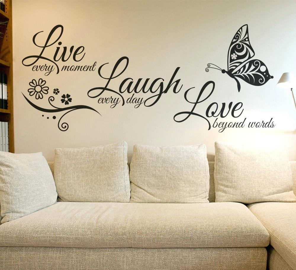Wall Ideas : How To Make Wood Wall Art Quotes Custom Wood Wall Art Regarding Family Sayings Wall Art (Image 15 of 20)
