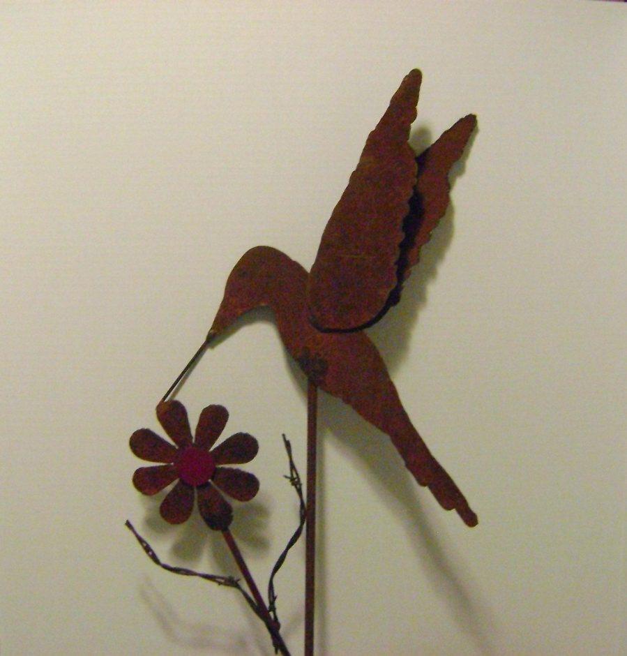 Wall Ideas : Hummingbird Outdoor Wall Decor Metal Hummingbird Wall Intended For Hummingbird Metal Wall Art (Image 19 of 20)