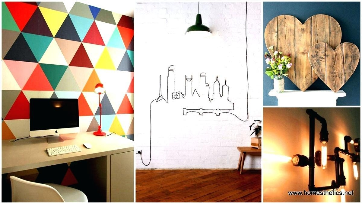 Wall Ideas: Industrial Wall Decor (View 8 of 20)