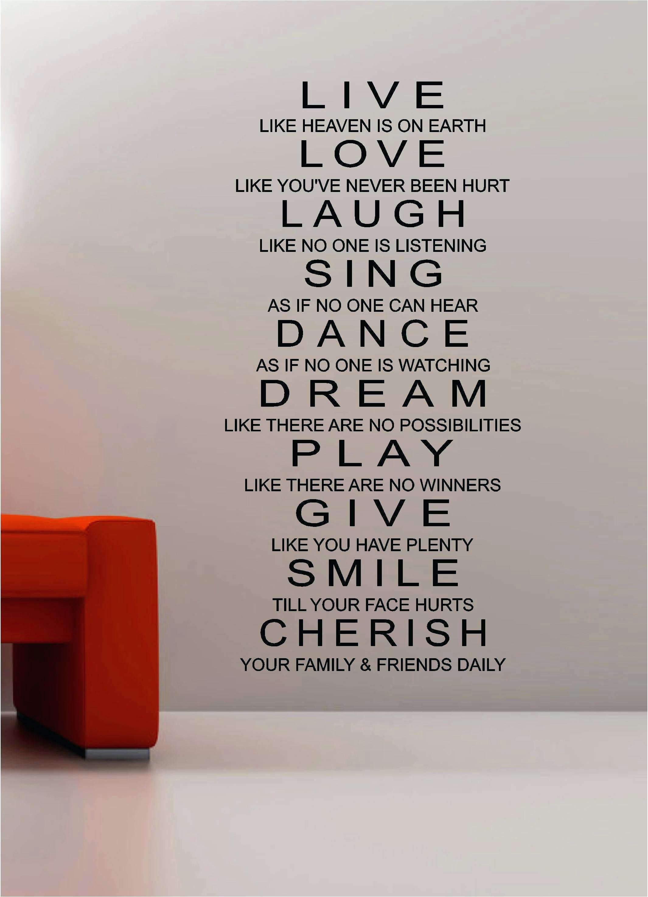 Wall Ideas: Inspirational Wall Art (Image 17 of 20)