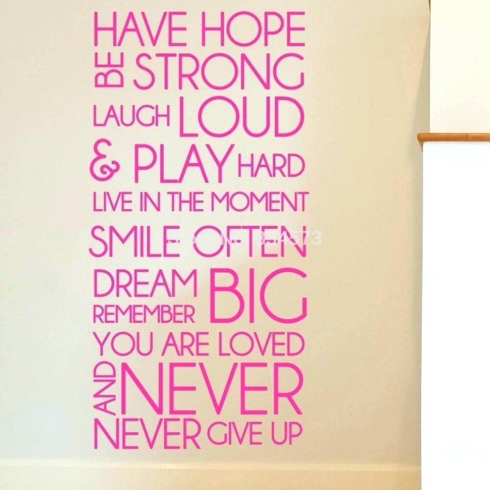 Wall Ideas: Inspirational Wall Art (Image 20 of 20)