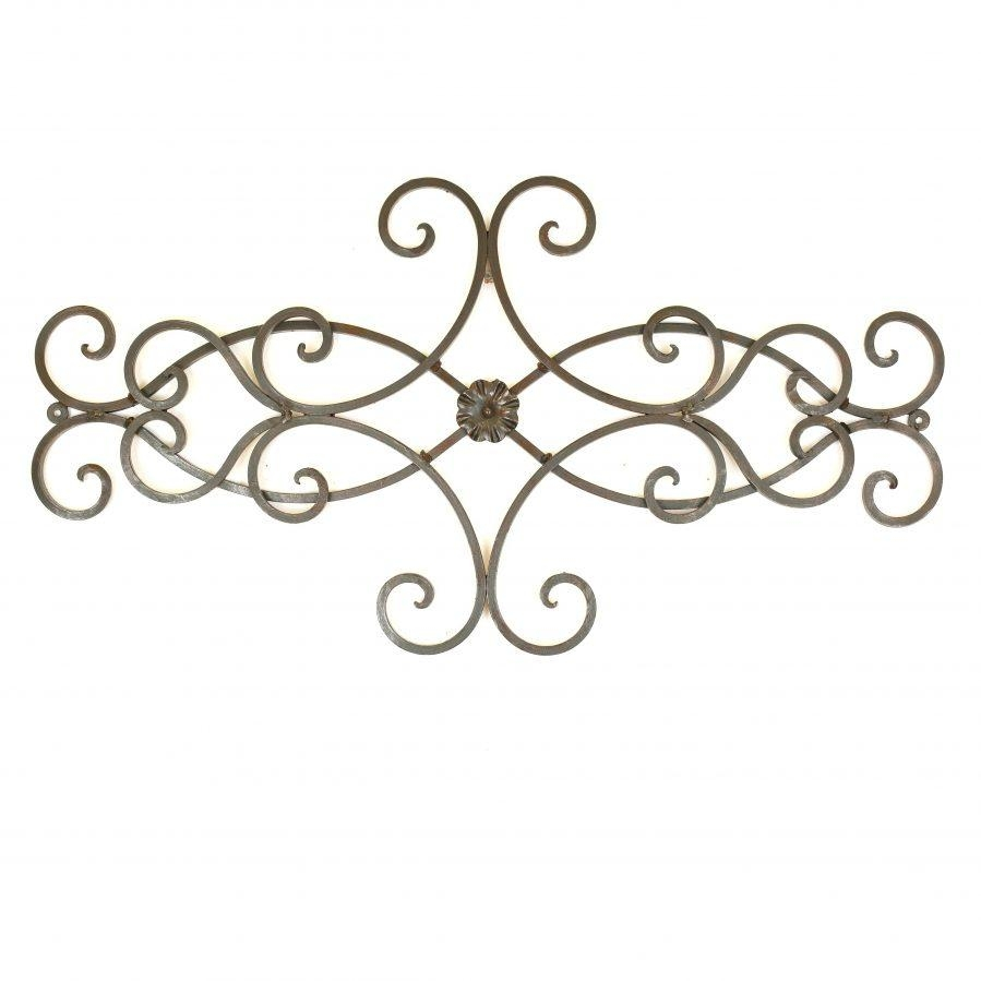Wall Ideas : Iron Scroll Wall Art Decor Wrought Iron Scroll Wall Pertaining To Iron Scroll Wall Art (View 2 of 20)