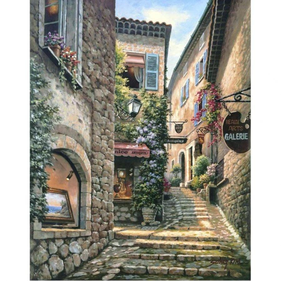 Wall Ideas : Italian Wall Art Prints Tuscan Italian Canvas Wall Throughout Scattered Italian Plates Wall Art (View 10 of 20)
