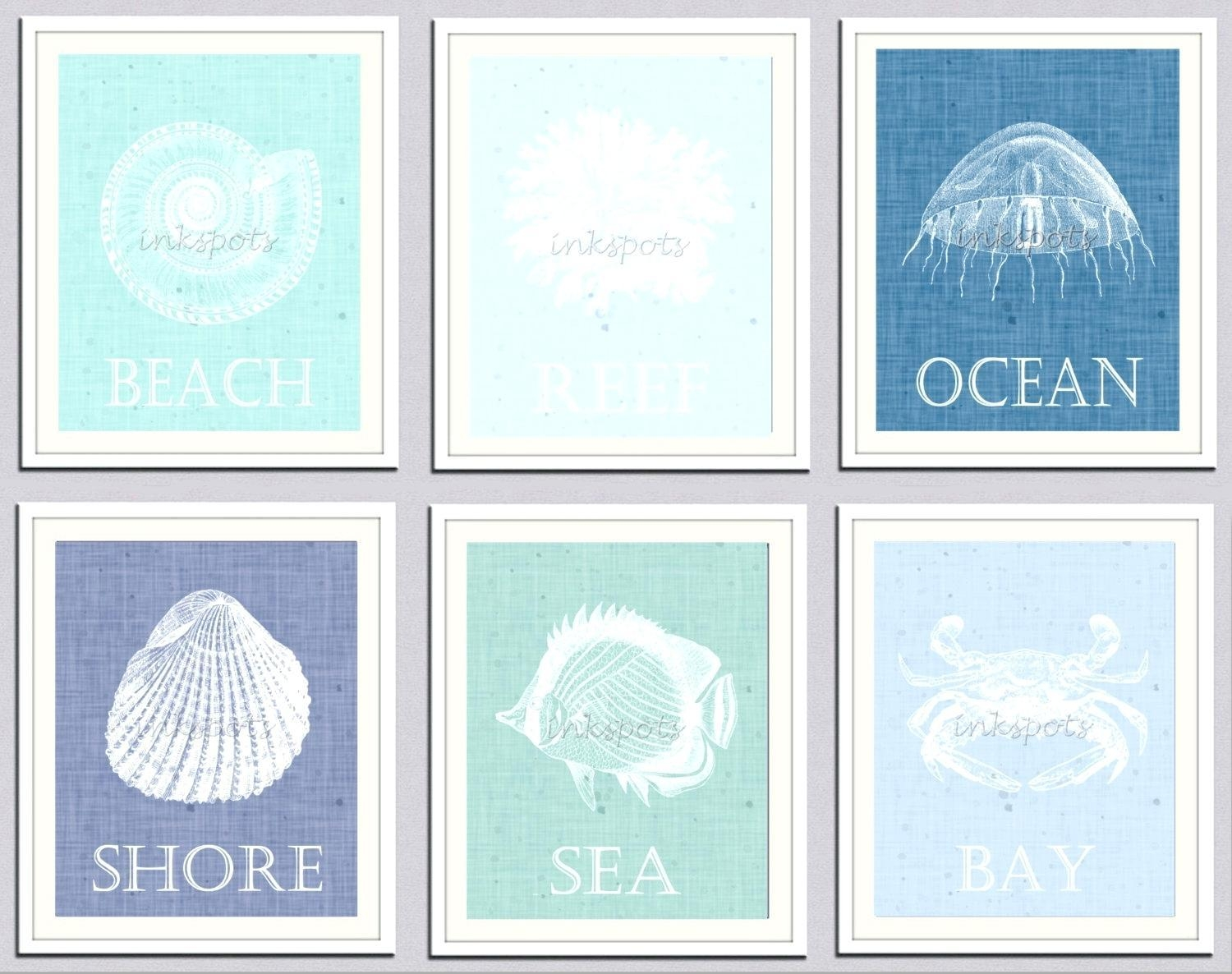 Wall Ideas : Kids Nursery Beach Wall Decals Art Beach Themed Metal Throughout Beach Themed Wall Art (Image 16 of 20)