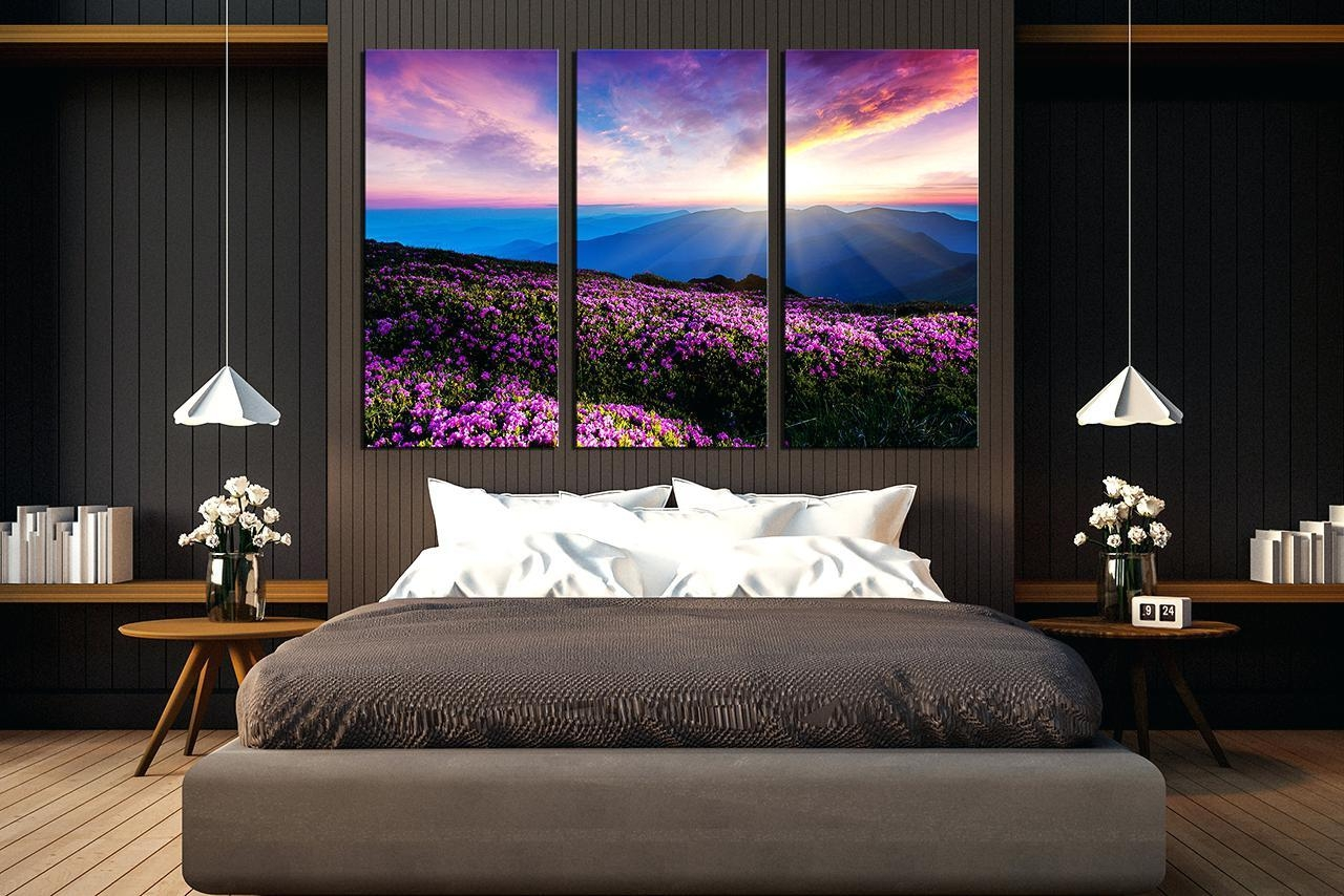 Wall Ideas : Landscape Wall Art Black And White Landscape Wall Art Inside Multi Piece Canvas Wall Art (View 10 of 20)