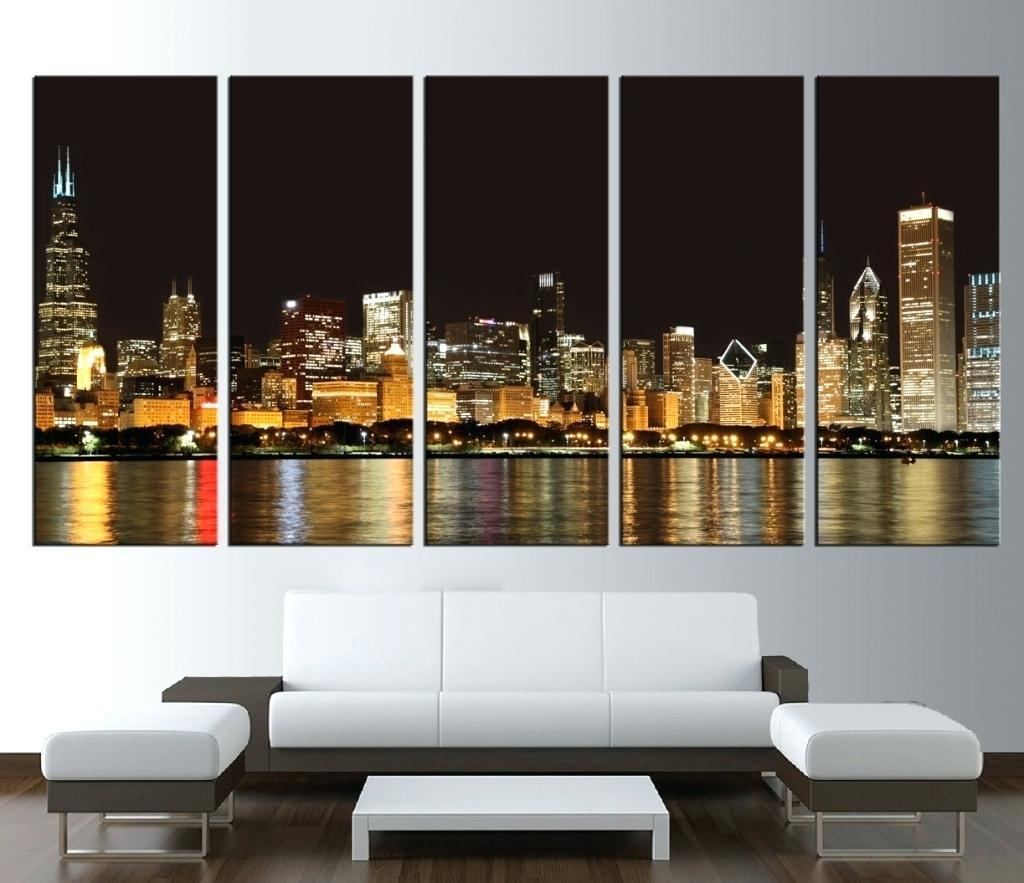 Wall Ideas : Large Abstract Wall Art Australia Illinois Cityscape Throughout Contemporary Oversized Wall Art (Image 17 of 20)