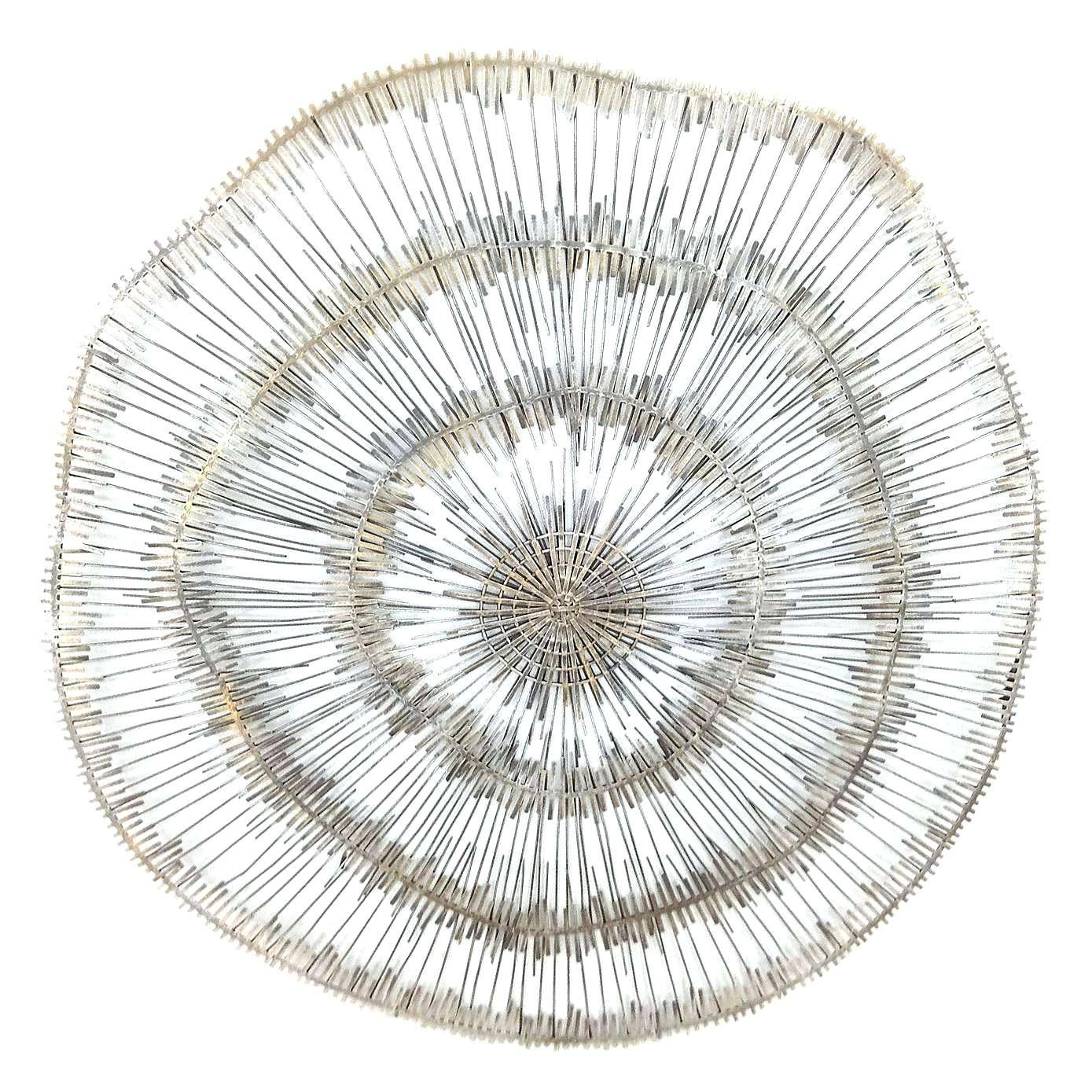 20 inspirations large round metal wall art wall art ideas for Circle wall art