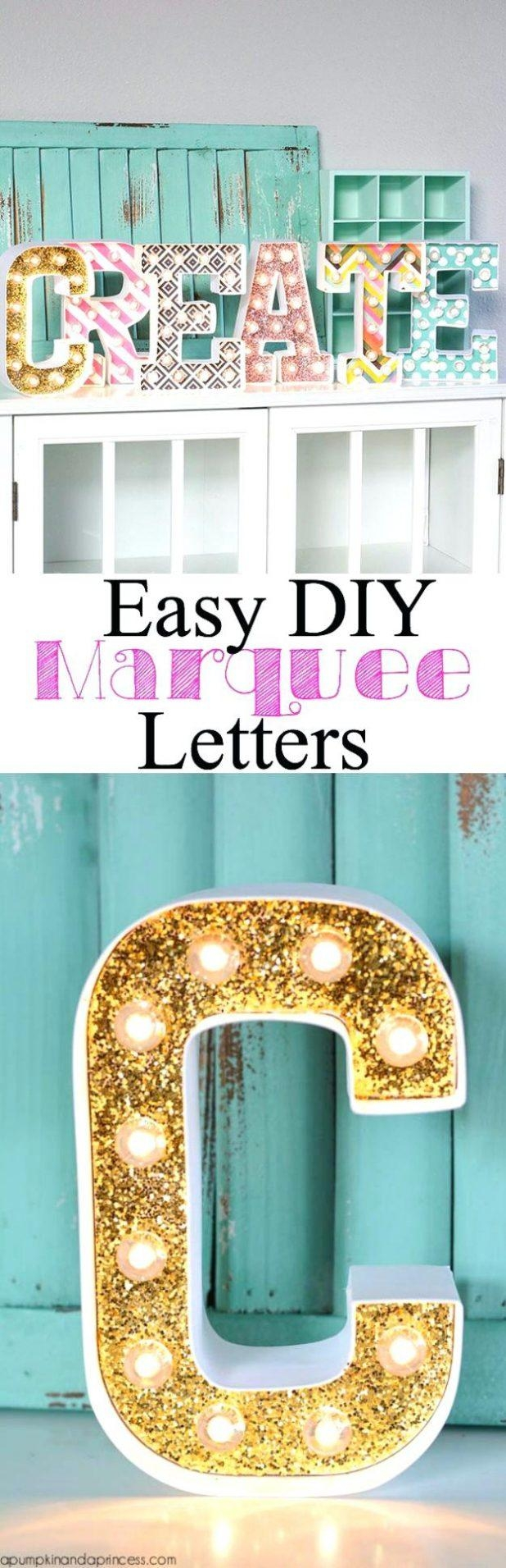 Wall Ideas: Letter Wall Art. Letter Wall Art For Nursery (Image 20 of 20)