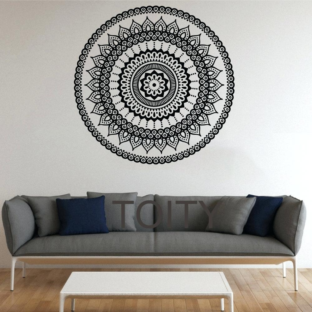 Wall Ideas: Mandala Wall Art. Mandala Wall Art Metal (View 17 of 20)
