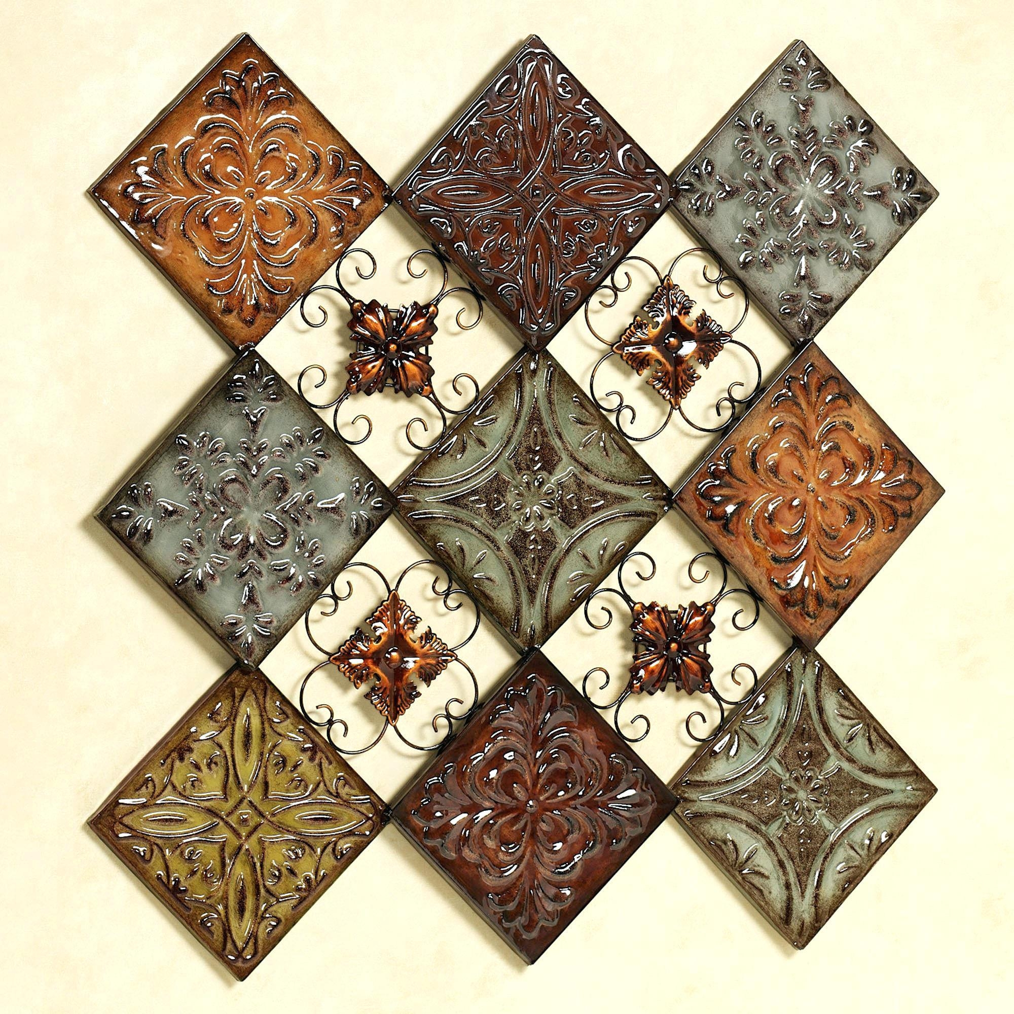 Wall Ideas: Medallion Wall Art (Image 17 of 20)