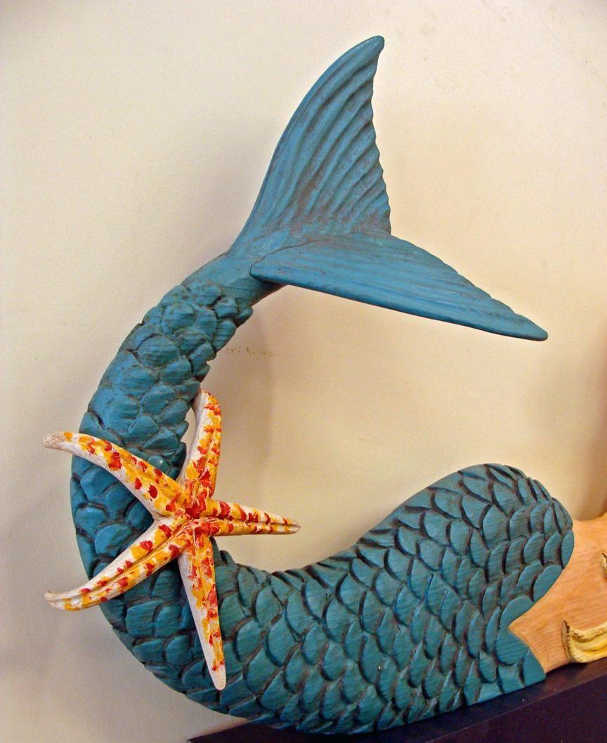 Wall Ideas: Mermaid Wood Wall Art (Image 16 of 20)