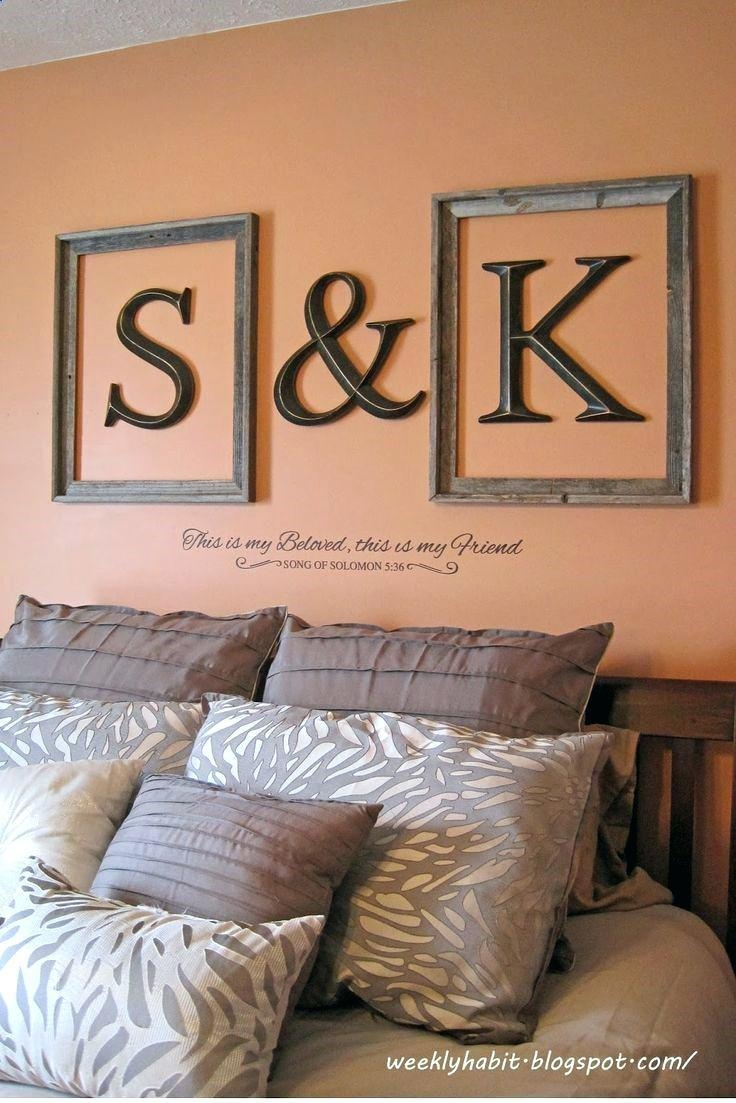 Wall Ideas: Metal Letters Wall Decor (View 11 of 20)