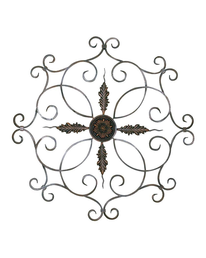 Wall Ideas: Metal Medallion Wall Art (View 17 of 20)