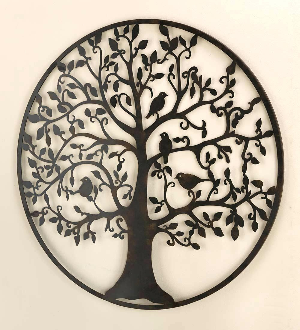 Wall Ideas: Metal Medallion Wall Art (Image 18 of 20)