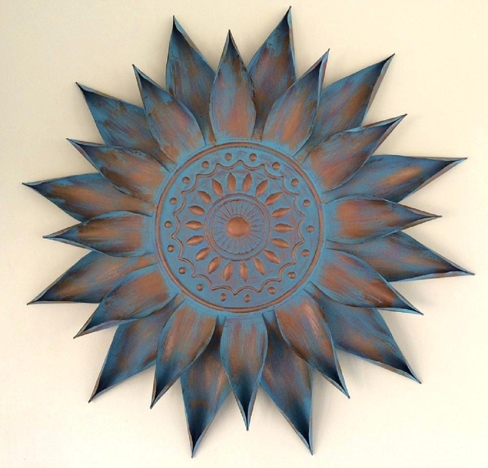 Wall Ideas: Metal Sun Wall Art (Image 18 of 20)