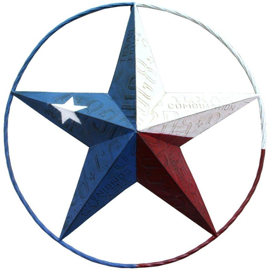 Wall Ideas : Metal Texas Star Wall Art Western Metal Star Wall Art Regarding Texas Star Wall Art (Image 16 of 20)