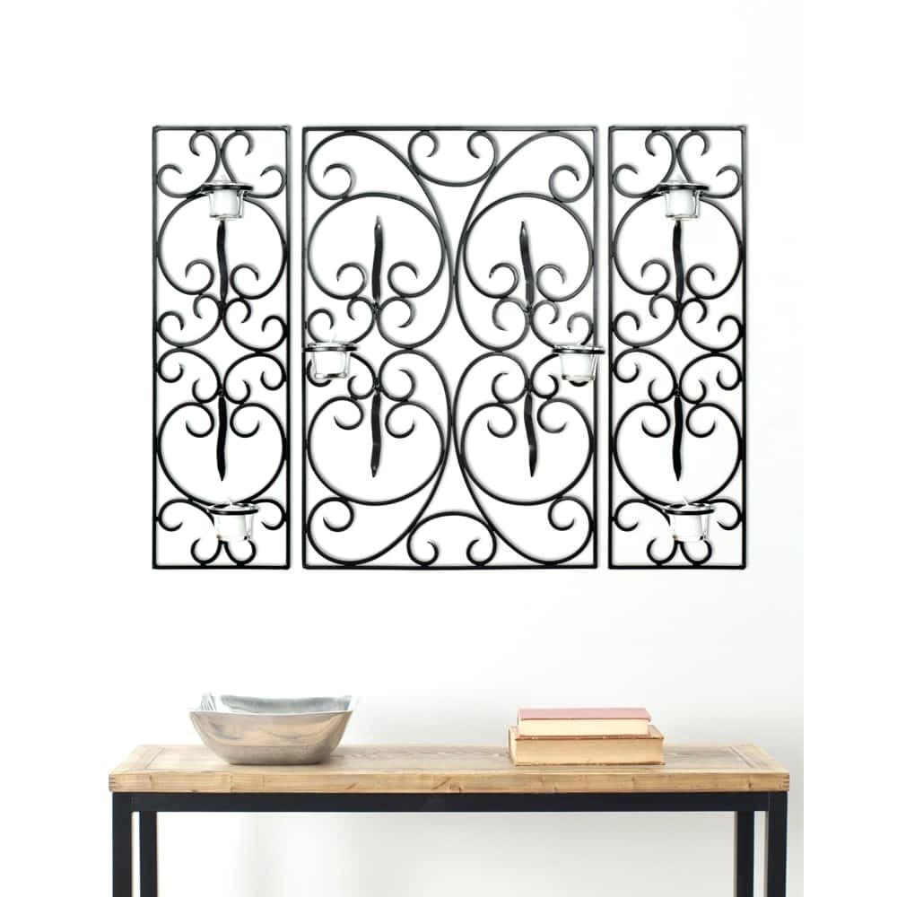 Wall Ideas : Metal Wall Art Candle Holder Uk Metal Wall Art Candle Pertaining To Metal Wall Art With Candles (Image 10 of 20)