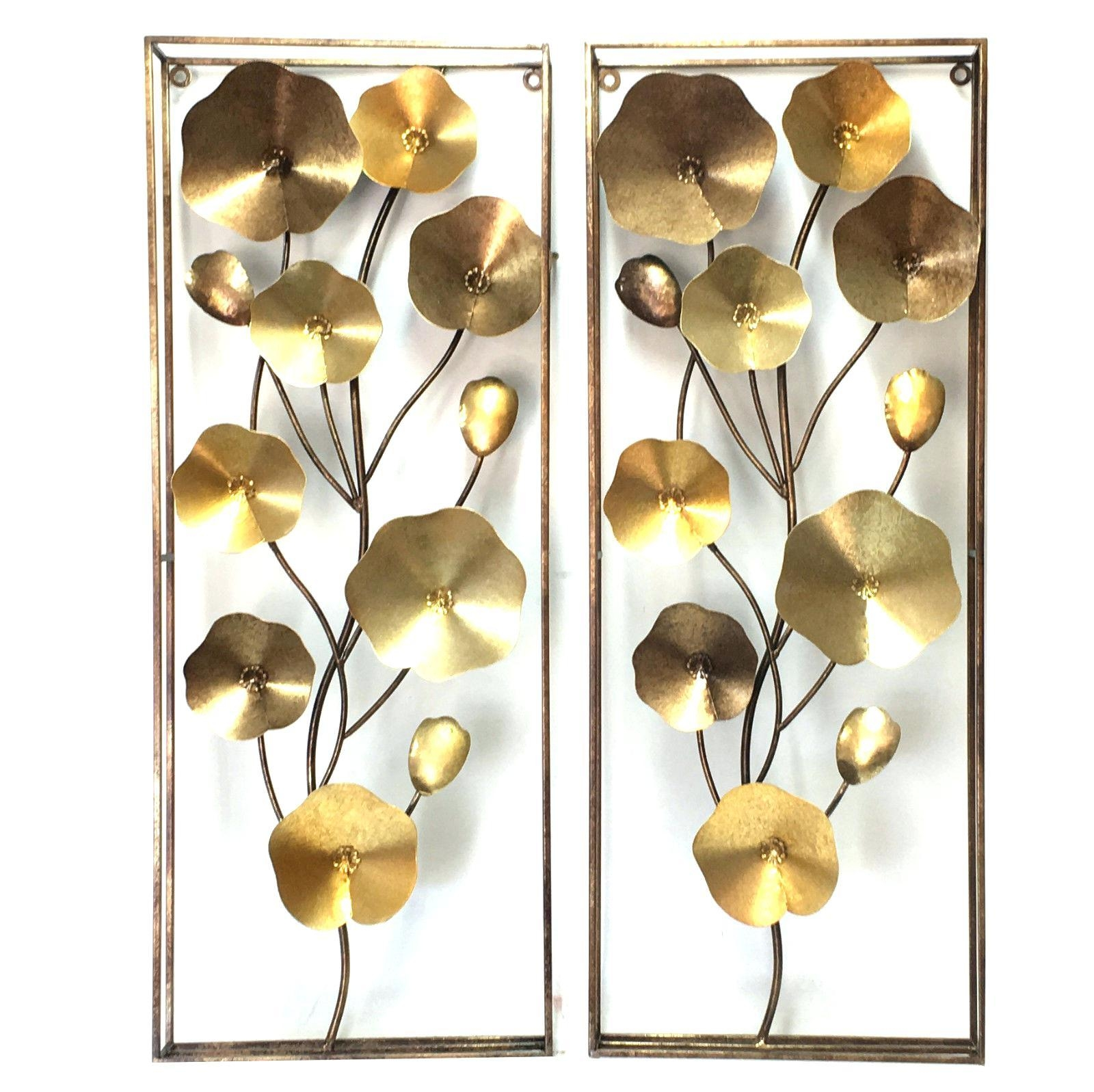Wall Ideas: Metal Wall Art Flowers (View 11 of 20)
