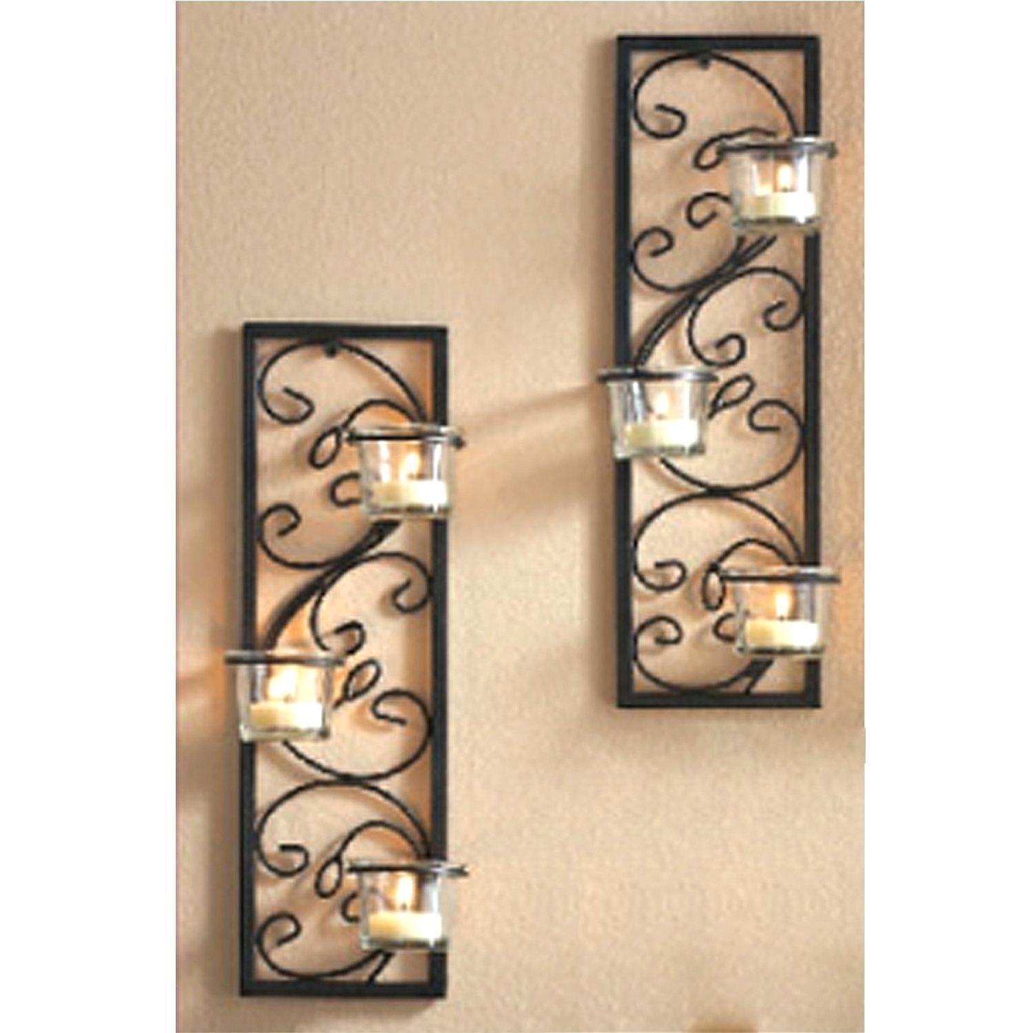 Featured Image of Metal Wall Art With Candles