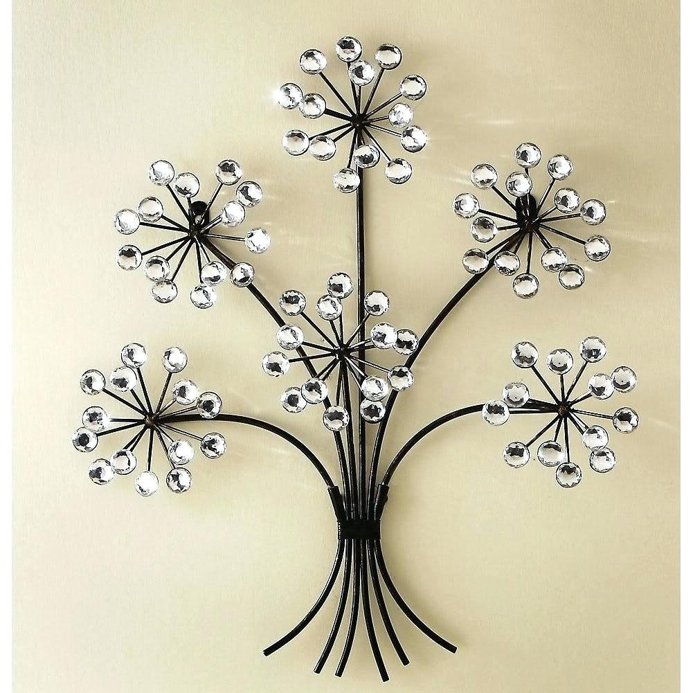 Wall Ideas: Metal Wall Flowers. Metal Garden Wall Flowers (View 15 of 20)