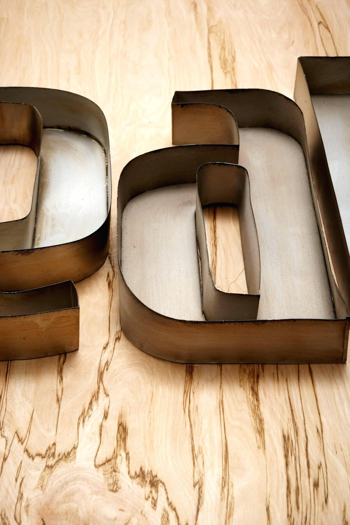 Wall Ideas : Metal Wall Letters Large Metal Letters Wall Art Uk Pertaining To Wall Art Letters Uk (Image 13 of 20)