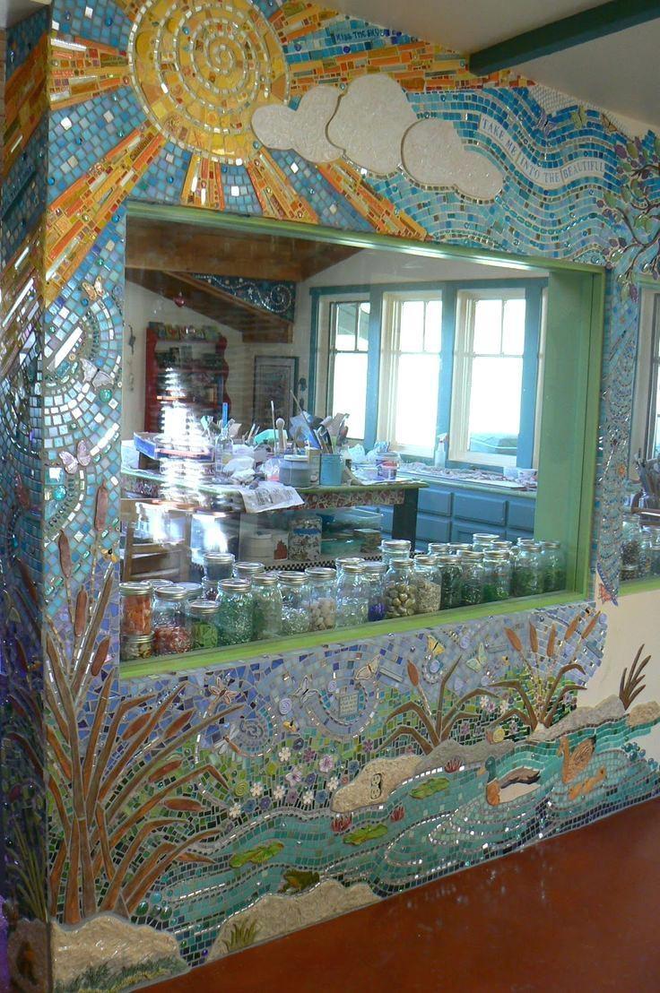 Wall Ideas : Mirror Mosaic Wall Art Diy Mirror Mosaic Wall Art How Inside Diy Mosaic Wall Art (View 7 of 20)