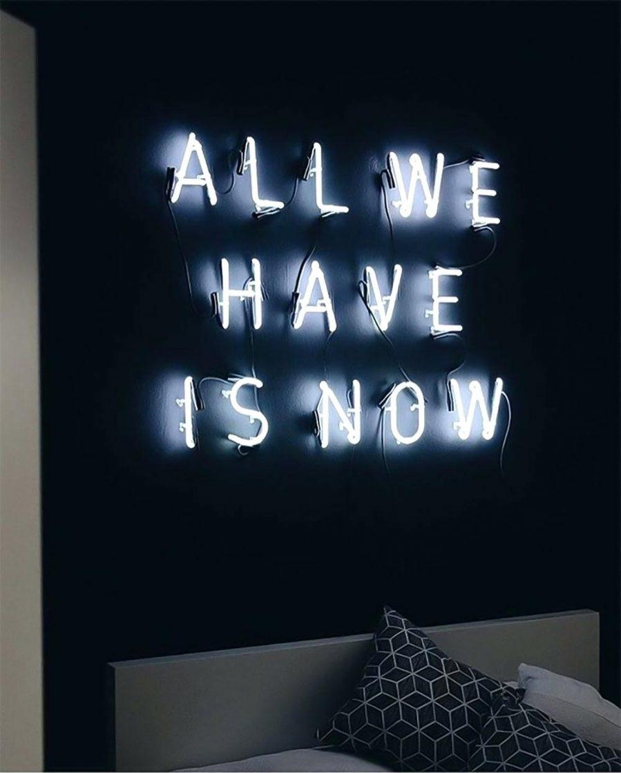 Wall Ideas : Neon Wall Art Ebay Neon Signs More Neon Wall Art For Intended For Neon Wall Art Uk (Photo 2 of 20)