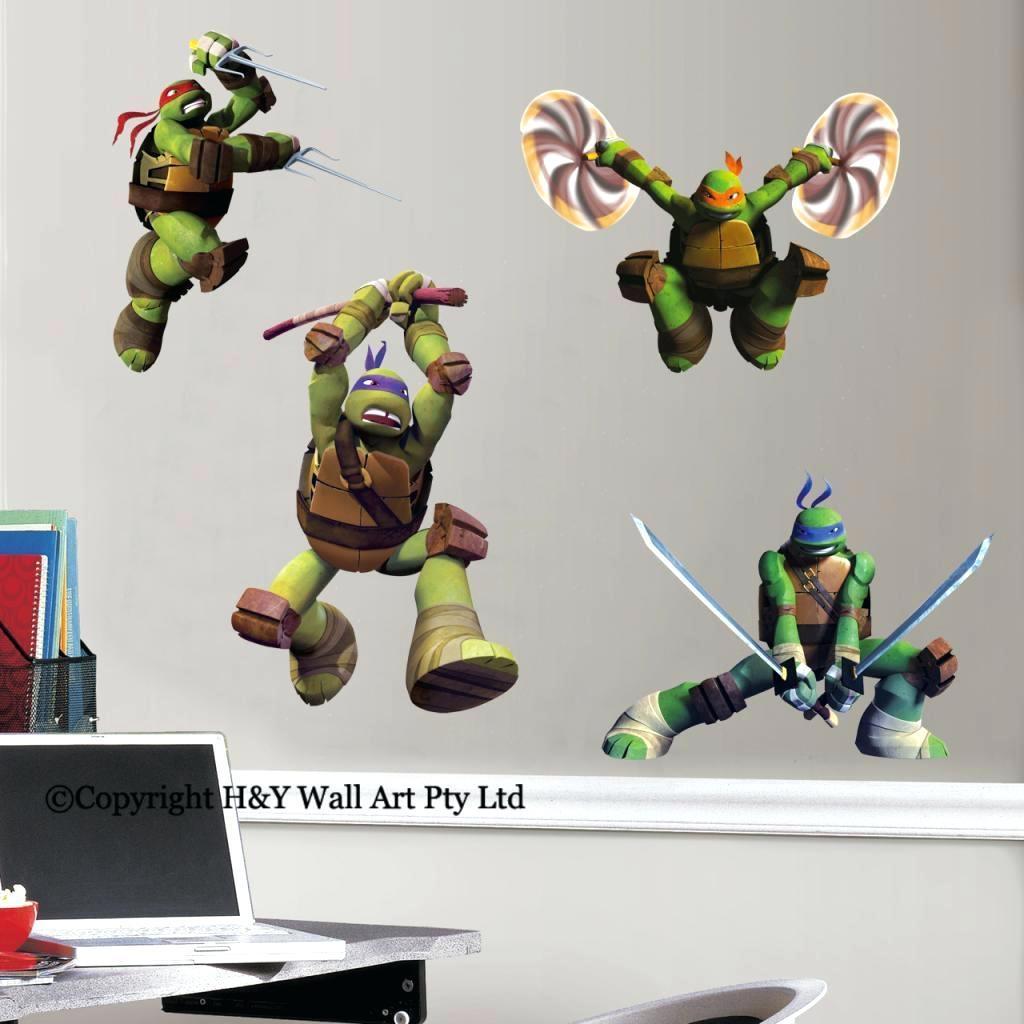 Wall Ideas: Ninja Turtle Wall Decor (View 6 of 20)