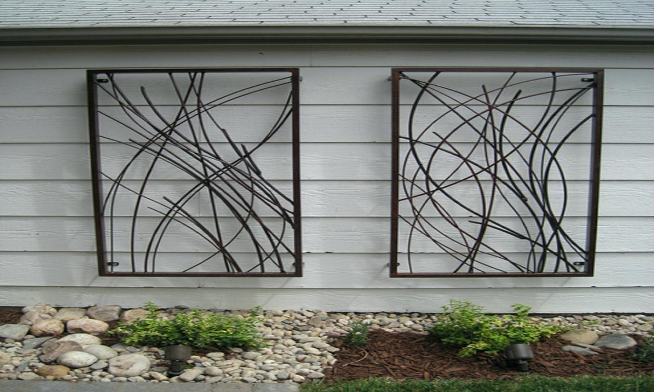 Wall Ideas : Outdoor Metal Wall Decor Birds Cheap Metal Outdoor In Outside Metal Wall Art (View 13 of 20)