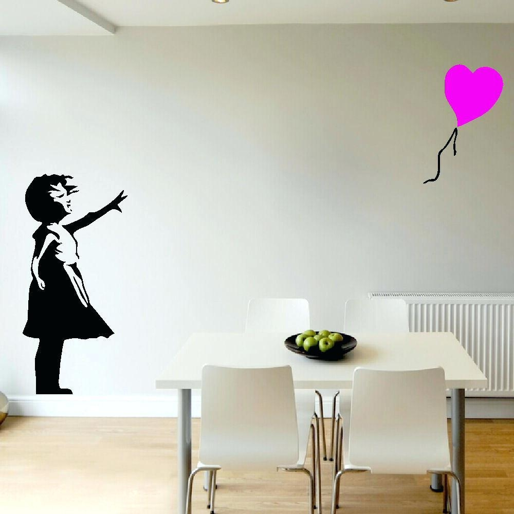 Wall Ideas : Outdoor Wall Mural Stencils Large Guitar Guitarist Throughout Stencil Wall Art (Image 17 of 20)