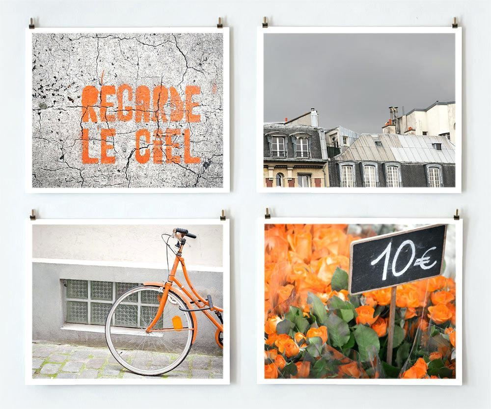 Wall Ideas : Paris Photography Librarie Paris No 3 Paris Print With Parisian Wall Art (Image 17 of 20)