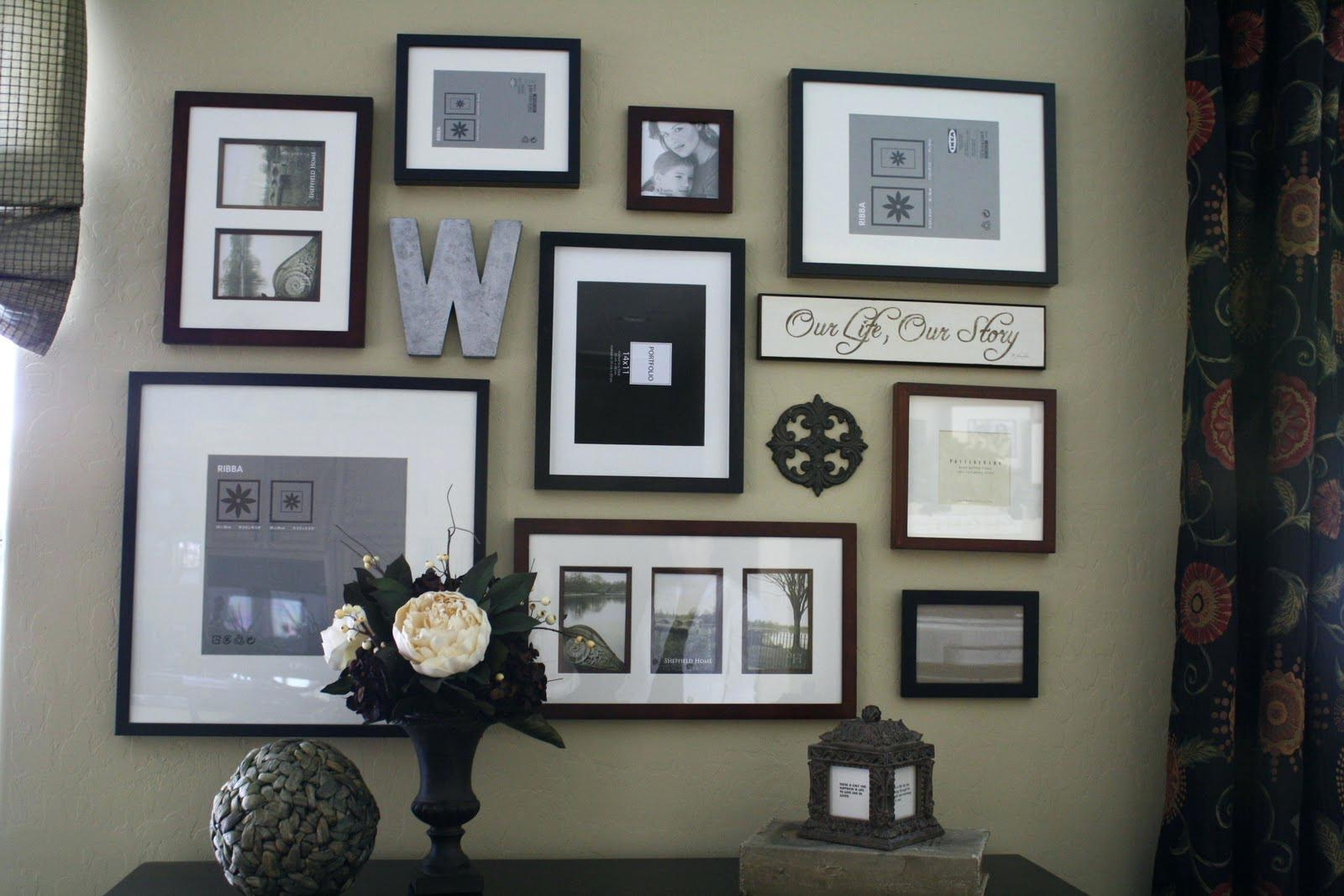 Wall Ideas : Picture Frames Wall Decoration Ideas Family Picture With Family Wall Art Picture Frames (Image 18 of 20)