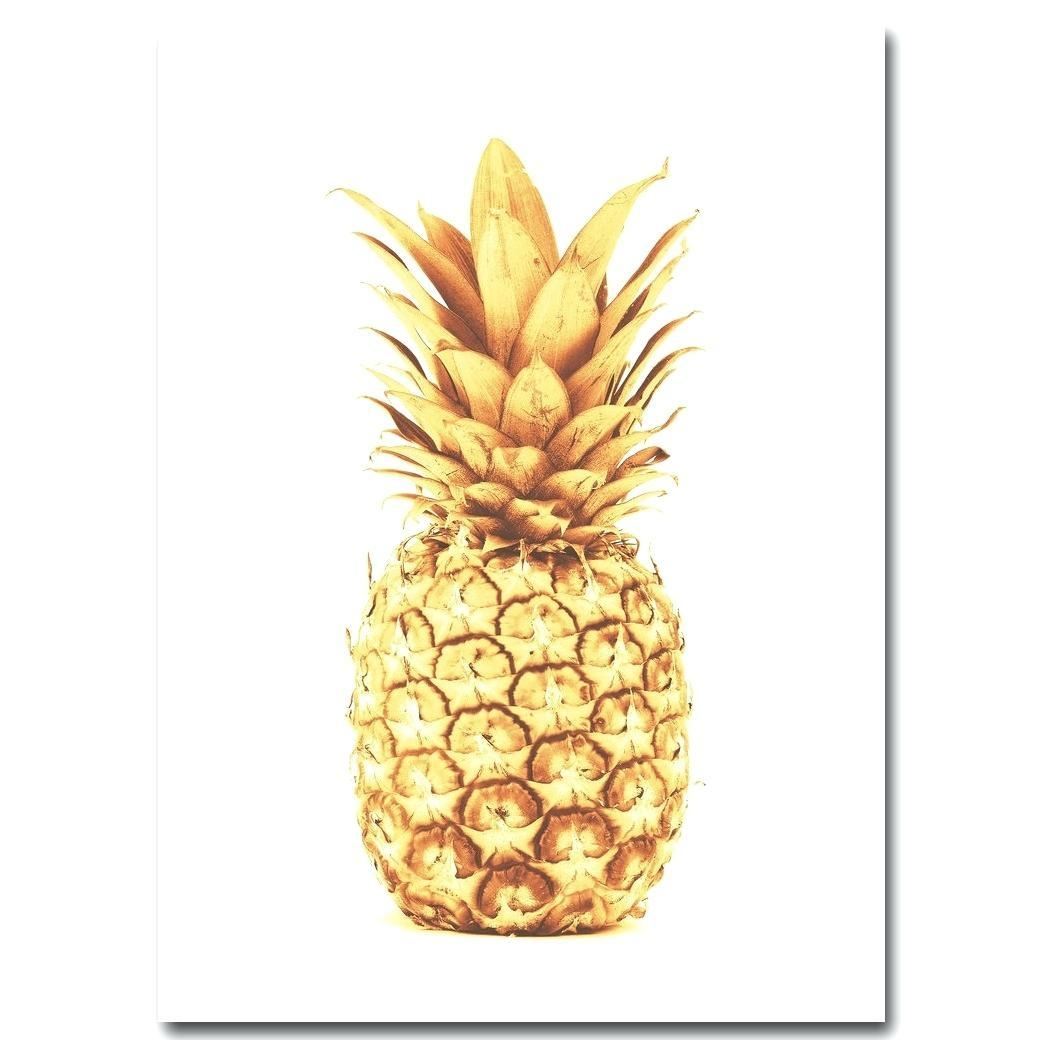 Wall Ideas: Pineapple Wall Art. Pineapple Wall Art Print (Image 18 of 20)