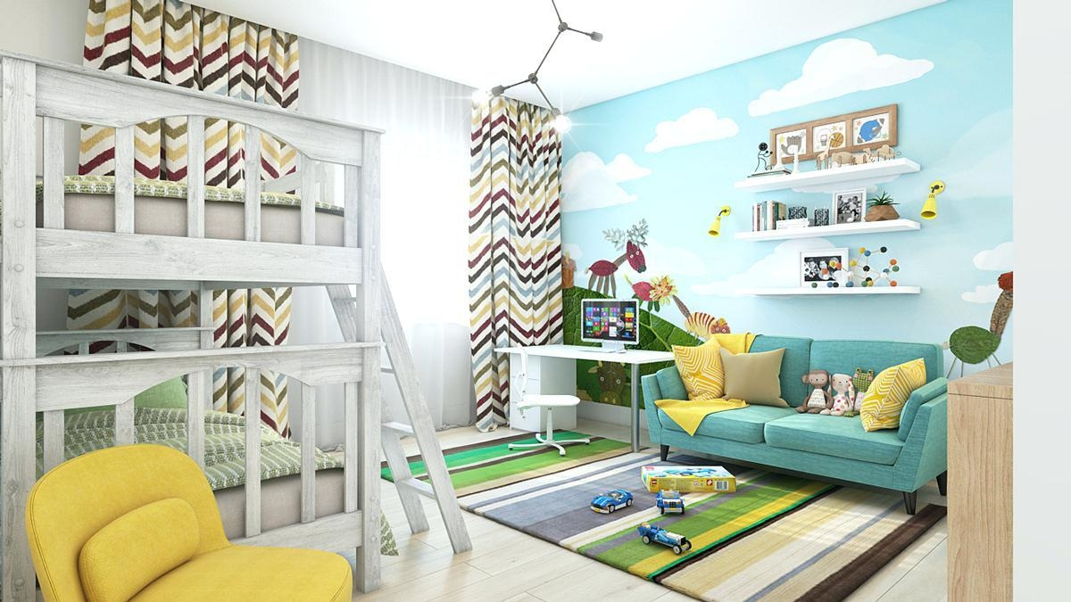Wall Ideas: Playroom Wall Art. Playroom Vinyl Wall Art (Image 7 of 7)