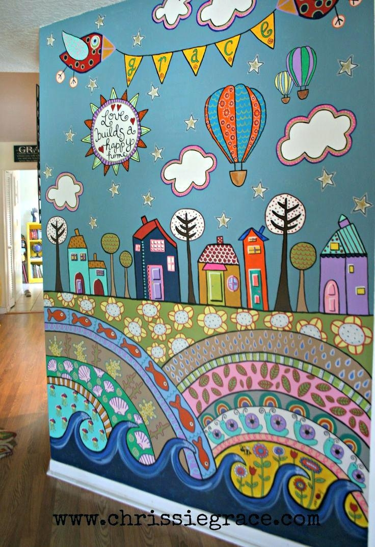 Wall Ideas: Playroom Wall Art. Playroom Vinyl Wall Art (View 12 of 20)