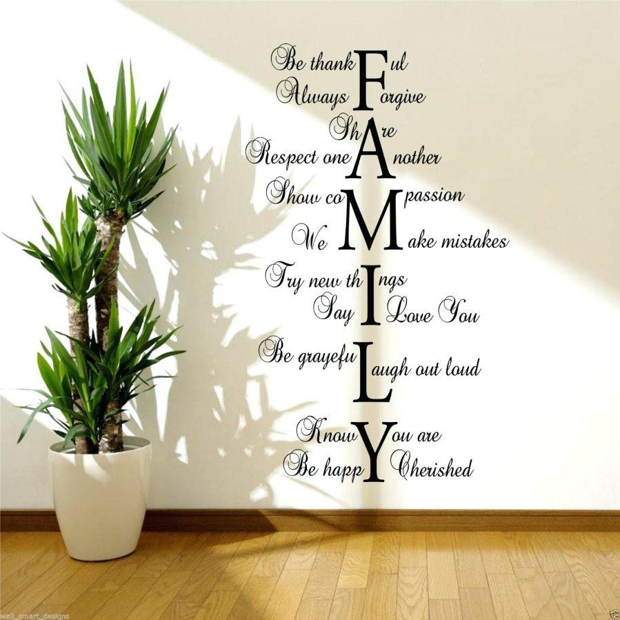 Wall Ideas : Quote Wall Art Pictures Quote Wall Art Pinterest Pertaining To Family Sayings Wall Art (Image 16 of 20)