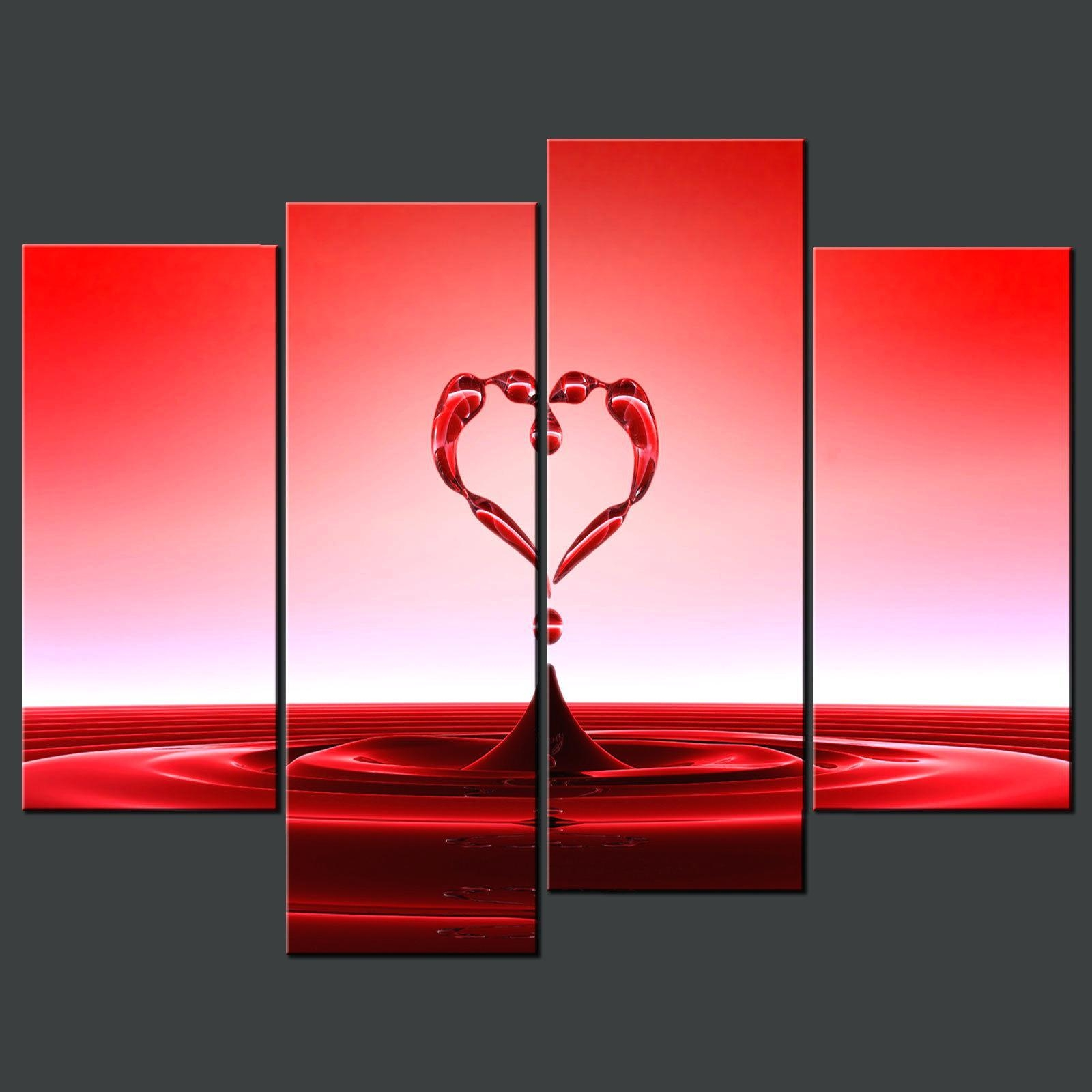 Wall Ideas: Red Wall Art. Red Metal Wall Art Uk. Red Wall Decor