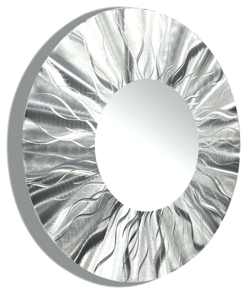 Wall Ideas: Round Metal Wall Art (Image 16 of 20)