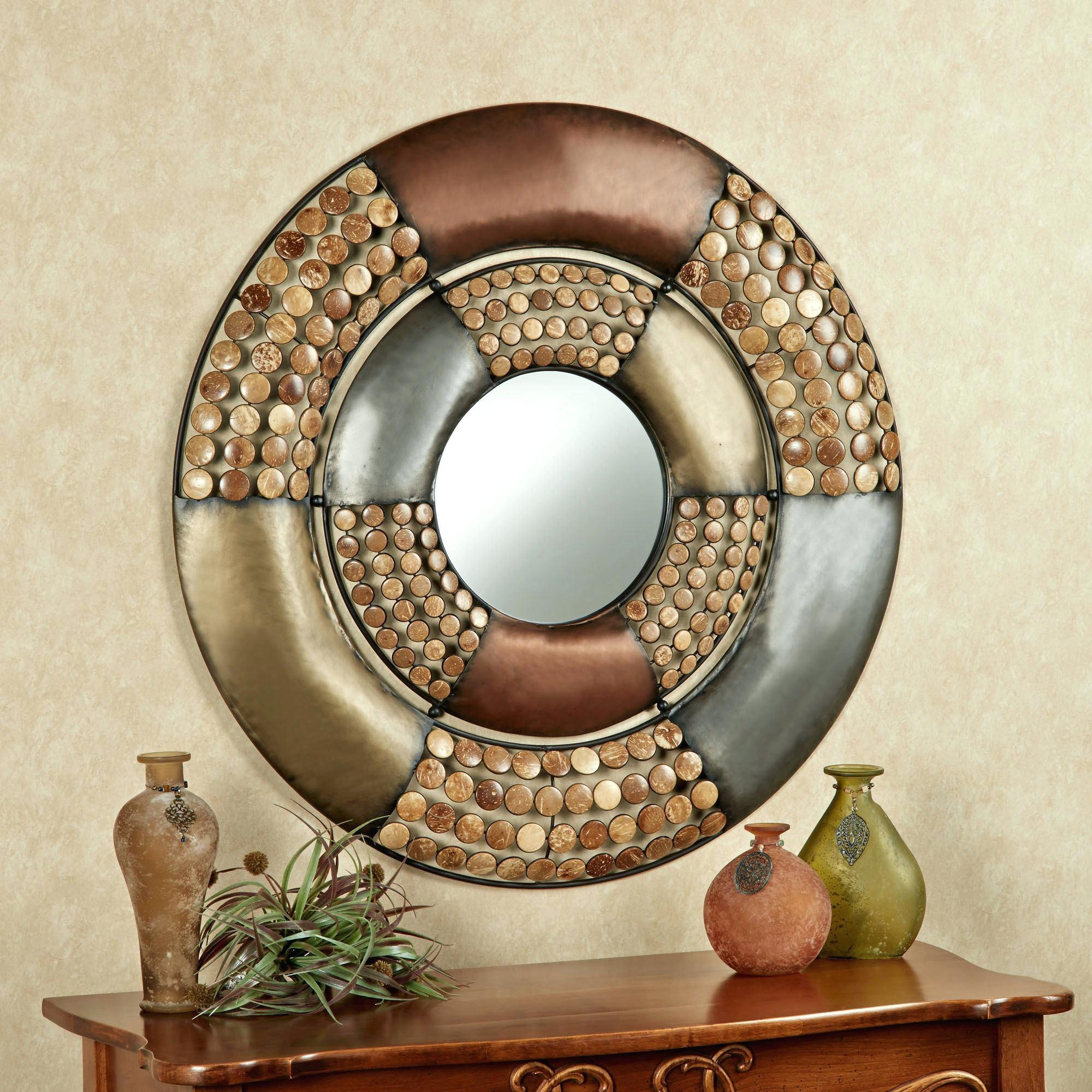 Wall Ideas: Round Wood Wall Art. Round Wood Wall Art (View 7 of 20)