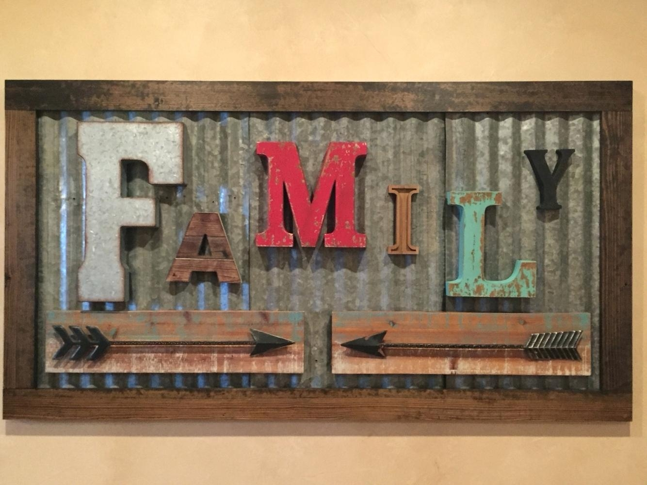 Wall Ideas : Rustic Wall Decor Gallery With A Variety Of Inside Diy Industrial Wall Art (View 11 of 20)