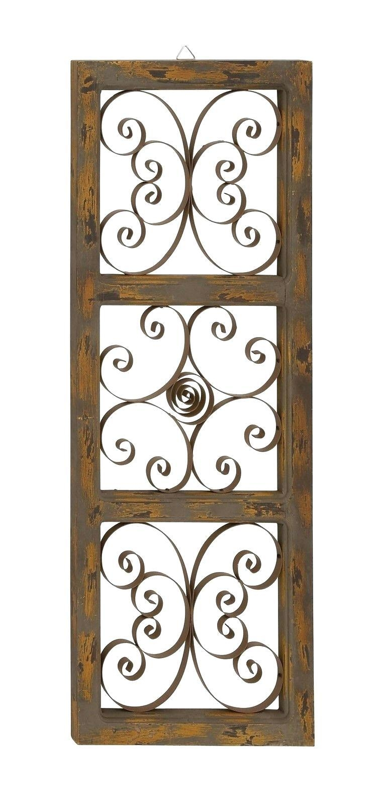 Wall Ideas : Scroll Design Grill Accessories Google Search Metal Intended For Iron Scroll Wall Art (View 11 of 20)