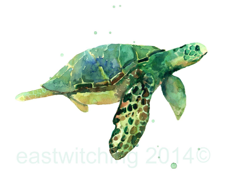 Wall Ideas: Sea Turtle Wall Art. Sea Turtle Vinyl Wall Art (View 13 of 20)