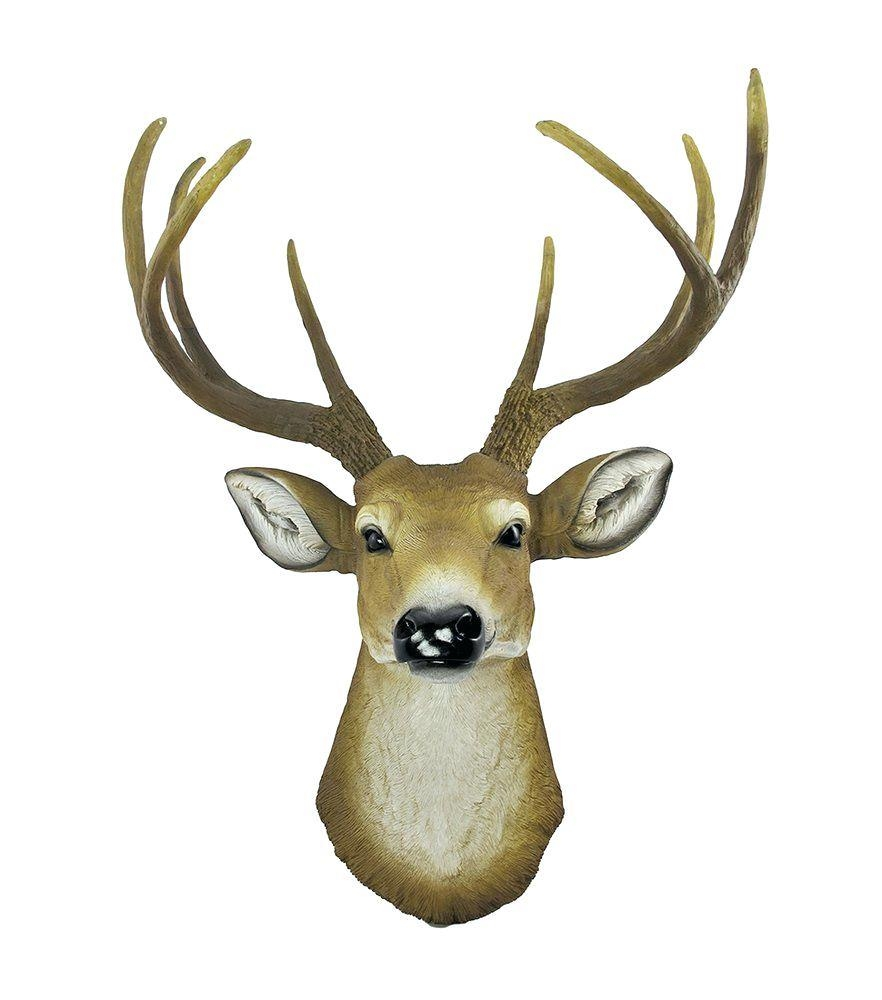 Wall Ideas : Stag Head Wall Art Uk Deer Head Wall Art Uk Faux Deer Intended For Resin Animal Heads Wall Art (View 13 of 20)