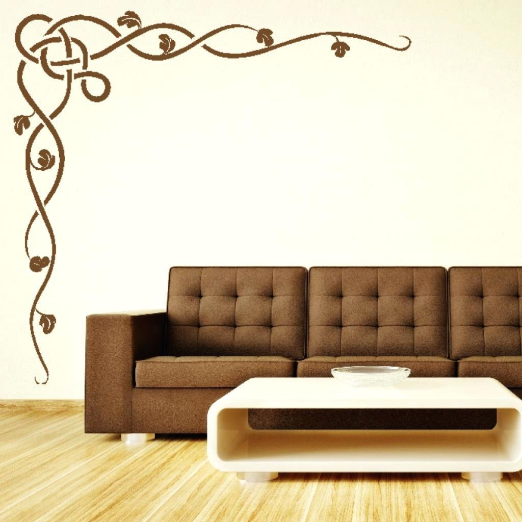 Wall Ideas: Stencil Art For Wall. Stencil Art For Walls (View 5 of 20)