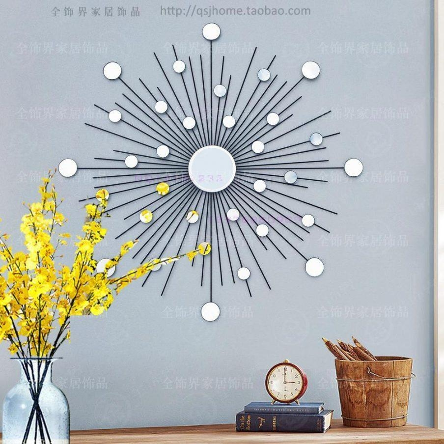 Wall Ideas: Sunburst Wall Decor Inspirations (Image 20 of 20)
