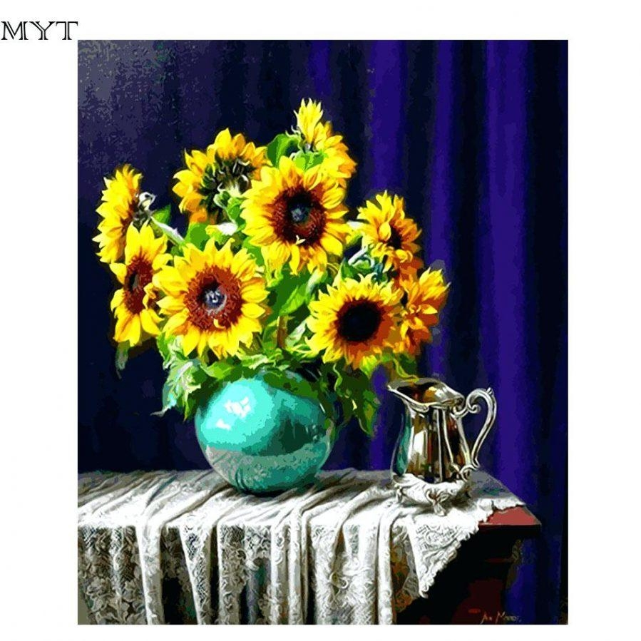 Wall Ideas : Sunflower Wall Art Sunflower Outside Wall Art In Metal Sunflower Wall Art (Image 15 of 20)