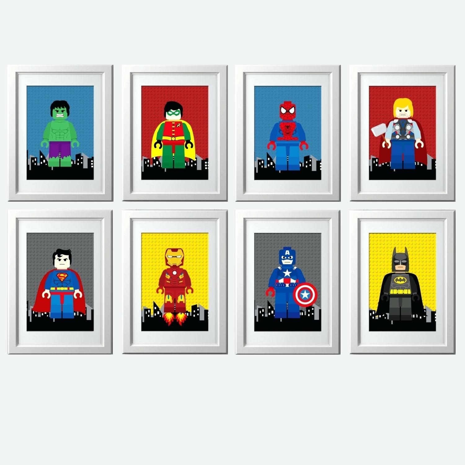 Wall Ideas : Superhero Canvas Wall Art Uk Superhero Wall Art For Superhero Wall Art Stickers (Image 18 of 20)