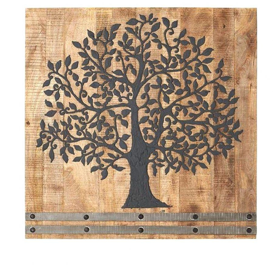 Wall Ideas: Tree Wall Art. Wooden Family Tree Wall Art (View 17 of 20)